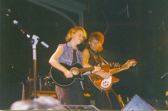 With mary chapin carpenter in chicago 1991 this is the day i strung